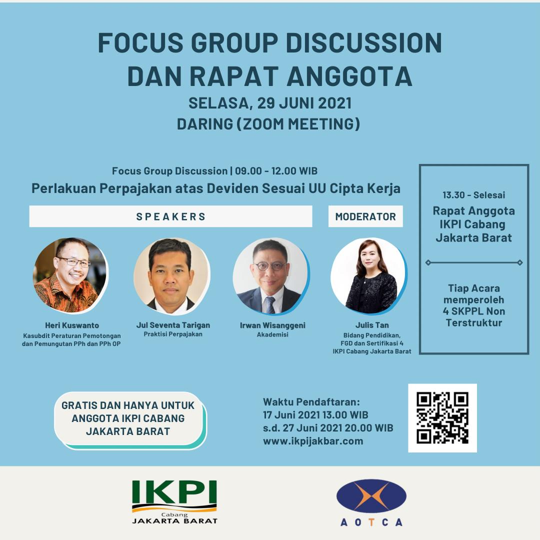 Forum Group Discussion & Rapat Anggota